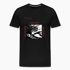 Cycling T Shirt - No Chain - No Pain - No Gain