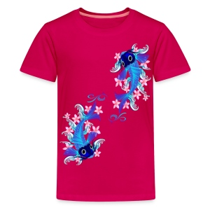 Two Blue Koi  - Kids' Premium T-Shirt