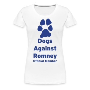 Official Dogs Against Romney Pack Member Women's Plus Size - Women's Premium T-Shirt