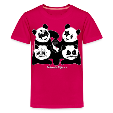 PANDA KISS! Kids' Shirts