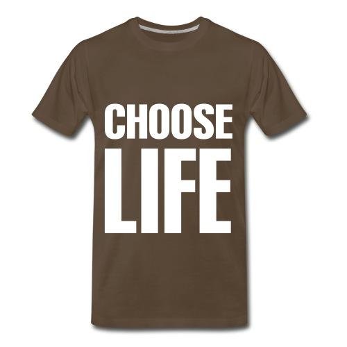 CHOOSE LIFE - Men's Premium T-Shirt