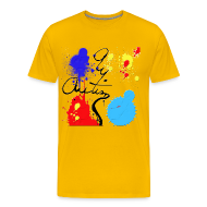 T-Shirts ~ Men's Premium T-Shirt ~ Autism Paint 2