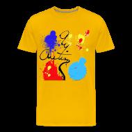 T-Shirts ~ Men's Premium T-Shirt ~ Autism Paint 2
