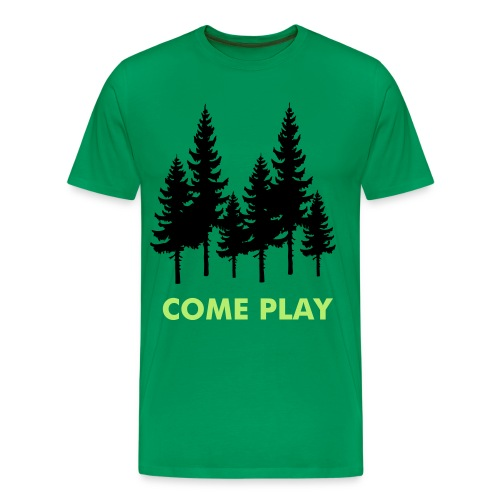 Come Play - Men's Premium T-Shirt