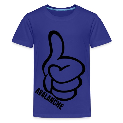 Kids Thumbs Up Tee Torquoise - Kids' Premium T-Shirt