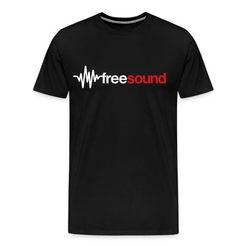 freesound_logo_tshirt - Men's Premium T-Shirt