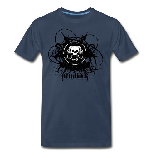 Men's STUDIO K - Skull Study T - Men's Premium T-Shirt