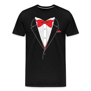 Tuxedo T Shirt - Men's Premium T-Shirt