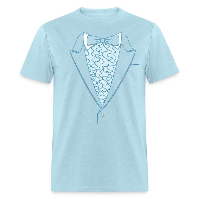 Tuxedo T Shirt Deluxe Blue