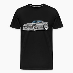 1982-92 Chevy Camaro Silver Car T-Shirts