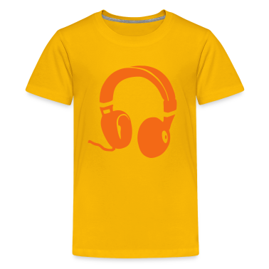 Headphones Kids' Shirts