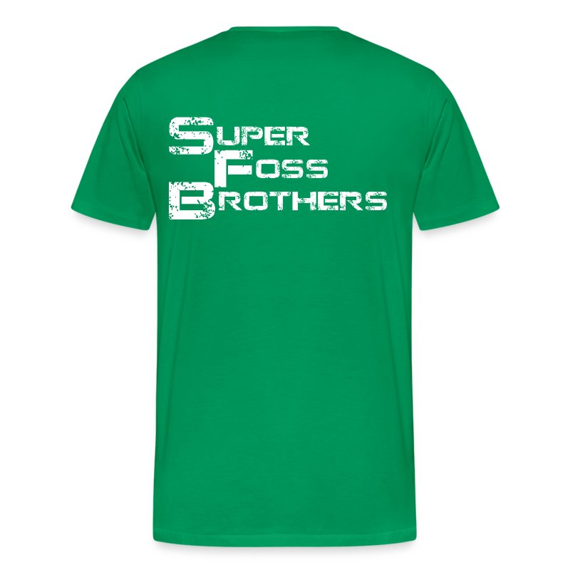SFB Men's 3XL and 4XL T-Shirt with Link from Zelda - Men's Premium T-Shirt