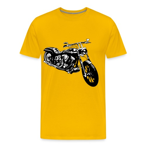 A ride on my bike, Is foreplay - Men's Premium T-Shirt