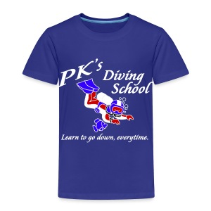 PK's Diving School - Toddler Premium T-Shirt