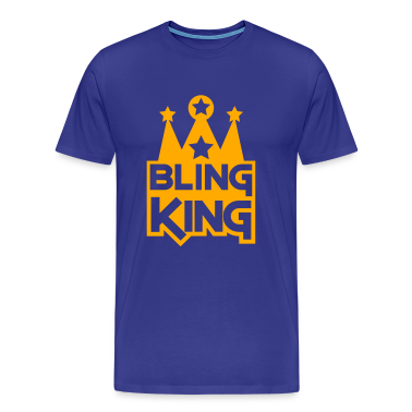 BLING KING with crown and stars T-Shirts