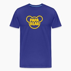 PAPA BEAR in a teddy shape super cute! T-Shirts
