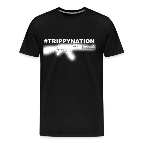 #TrippyNation AK47 Shirt - Men's Premium T-Shirt