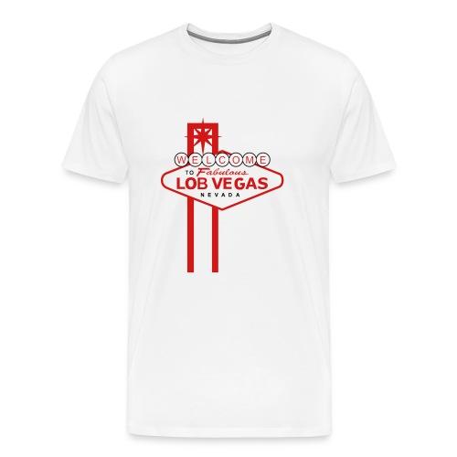 Lob Vegas T-Shirt - Men's Premium T-Shirt