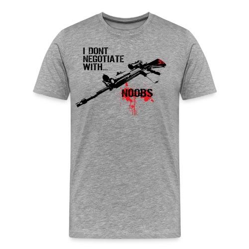 Noobs suck - Men's Premium T-Shirt