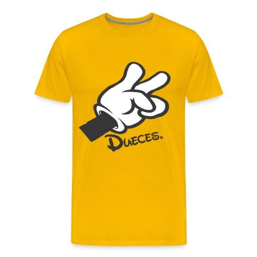 Dueces - Men's Premium T-Shirt