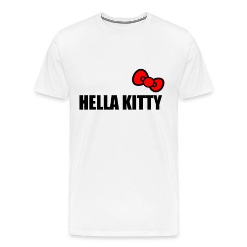 Hella Kitty (Heavyweight) - Men's Premium T-Shirt