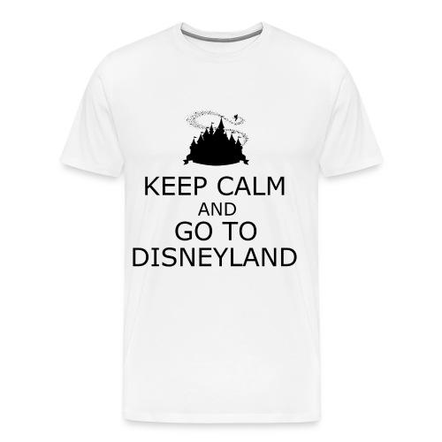 Keep Calm: Disneyland - Men's Premium T-Shirt