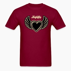Winged Valentine's Heart 3_2c T-Shirts