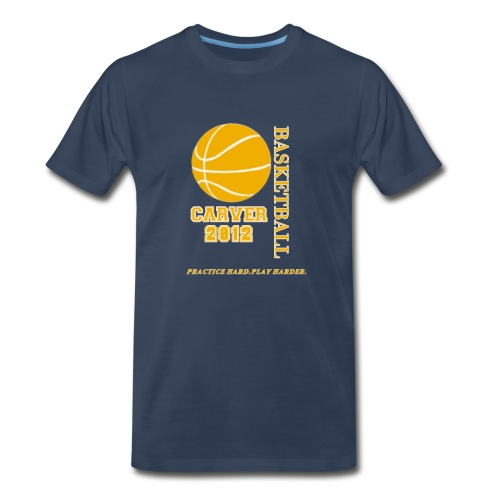 carver_basketball_2012  - Men's Premium T-Shirt