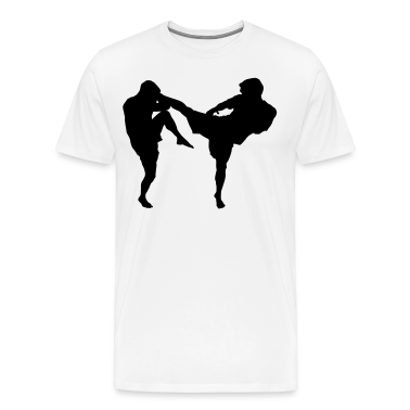 MMA Kick HD VECTOR T-Shirts
