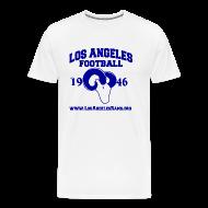 T-Shirts ~ Men's Premium T-Shirt ~ Los Angeles Football T-Shirt (White)