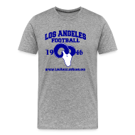 T-Shirts ~ Men's Premium T-Shirt ~ Los Angeles Football T-Shirt (Grey)