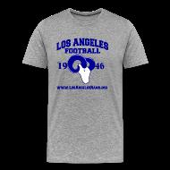T-Shirts ~ Men's Premium T-Shirt ~ Los Angeles Football T-Shirt (Grey)