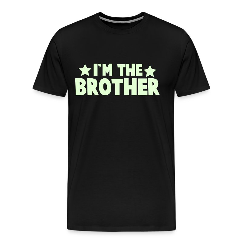 new i'm the brother family label design T-Shirts - Men's Premium T-Shirt