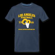 T-Shirts ~ Men's Premium T-Shirt ~ Los Angeles Football T-Shirt (Navy Blue)
