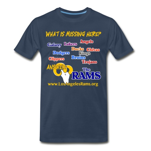 What is Missing Here? T-Shirt - Men's Premium T-Shirt