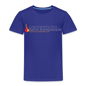 Reeve Foundation Toddlers Tee - Toddler Premium T-Shirt