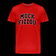 T-Shirts ~ Men's Premium T-Shirt ~ Georgia says Muck Fizzou - red