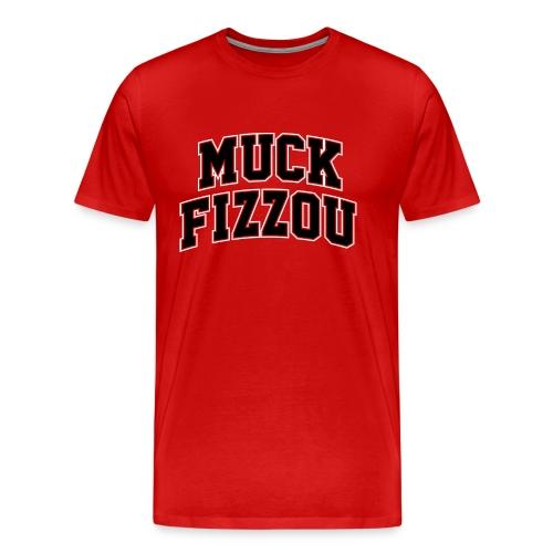 Georgia says Muck Fizzou - red - Men's Premium T-Shirt