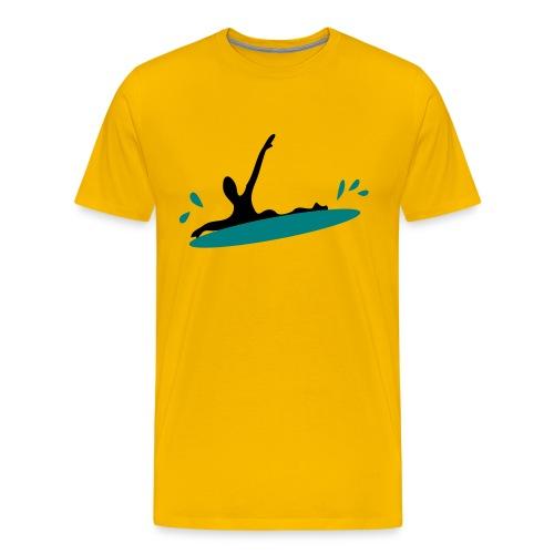 Surfing Men's Heavyweight T-Shirt - Men's Premium T-Shirt