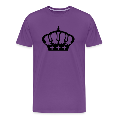 Cool Crown Men's Heavyweight T-Shirt