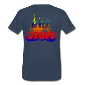 Volunteer Firefighter Support Tee - Men's Premium T-Shirt