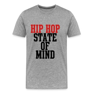 Hip Hop State of Mind T-Shirts - Men's Premium T-Shirt