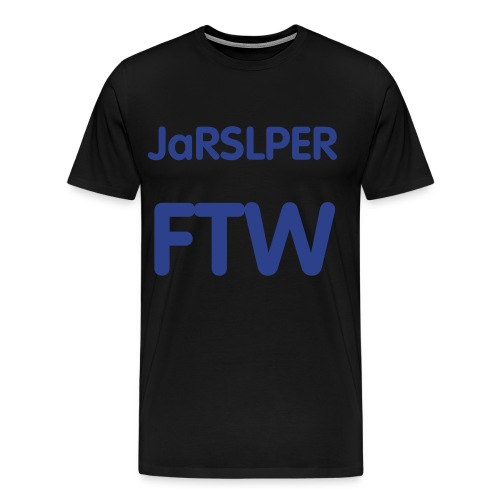 JaRSLPER T-Shirt Black - Men's Premium T-Shirt