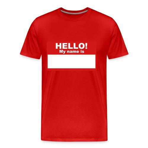 Muscle Shirt - Men's Premium T-Shirt