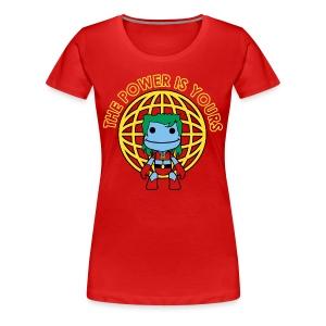 Little Captain Big Planet - Women's Premium T-Shirt