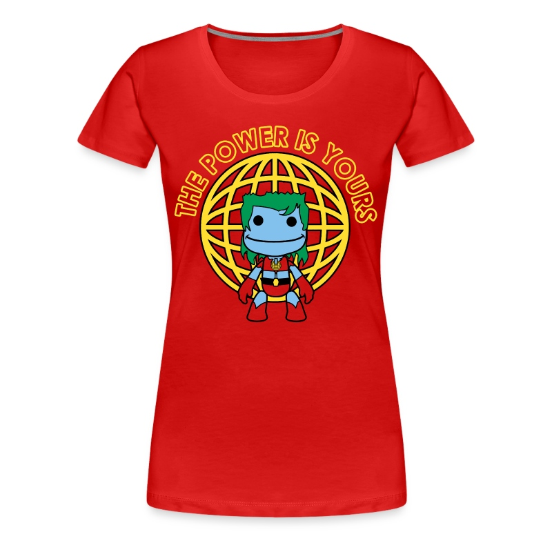 Little Captain Big Planet - Women's Premium T-Shirt