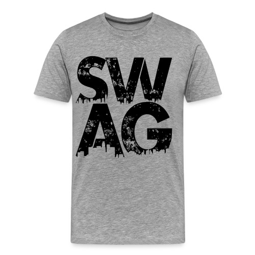 Black Swag T-Shirt - Men's Premium T-Shirt