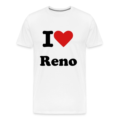 I Love Reno T-Shirt - Men's Premium T-Shirt