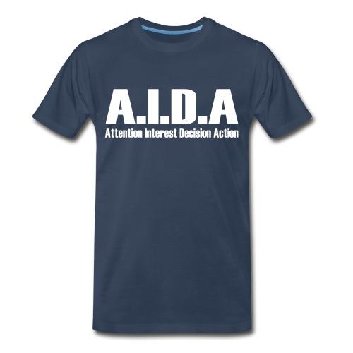 The Art of Selling | AIDA T-Shirt - Men's Premium T-Shirt