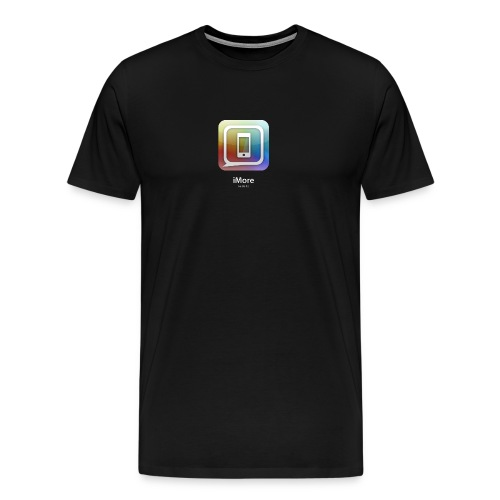 Apple-colored new iPad launch special edition iMore shirt_black - Men's Premium T-Shirt